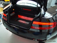 Aston Martin DB9 Custom boot insallation