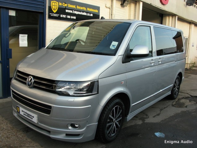 VW caravelle ABT WiFi Fridge Tinting target blueye