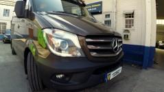 Mercedes Benz Sprinter Alpine INE-W928R DAB DVD Bluetooth GPS Navigation USB AUX , Armaplate, Deadlock L4V. Mul-T-Lock Bazooka DVB-t Reverse camera