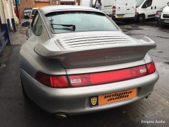 Porsche 911 (993) Turbo Stereo with GPS Navigation system Bluetooth AUX Bluetooth streaming CD player Radio