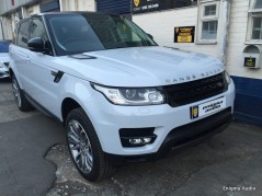 Electric deployable side steps Range Rover Sport