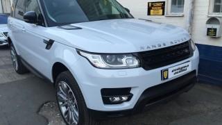 Electric deployable side steps Range Rover Sport