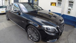 Mercedes S Class Maybach V12 Security system installation Scorpion Cat5 GPS Tracker Anti theft