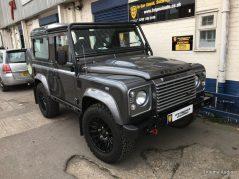 Land Rover Defender 90 Bowler Audio Upgrade, reverse camera, WiFi , Parking sensors