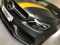 Mercedes Benz AMG C63s Edition 1 Key cloning prevention Autowatch Ghost immobiliser and Meta Trak CAT5 GPS Tracker, Security , anti Theft, Key Cloning, Alarm, GPS Tracker CAT6, VTS tracker Cat5, Thatcham,